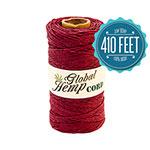 Burgundy Hemp Cord