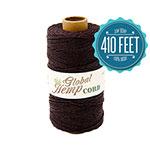Dark Brown Hemp Cord