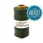 Dark Green Hemp Cord