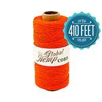 Orange Hemp Cord