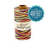 Rainbow Variegated Hemp Cord