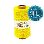 Yellow Hemp Cord